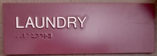 ADA laundry