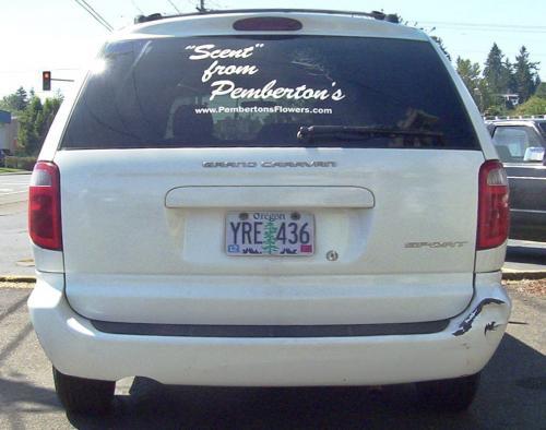 Pemberton's vehicle graphics