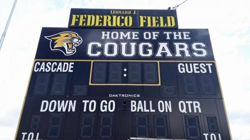 Cougars scoreboard