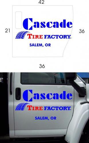cascade tire pickup door